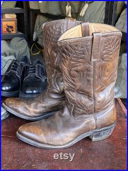 1970s Red Wing 'Pecos' 9801 Western Work Boot sz 10.5 B (fits 9.5 10)