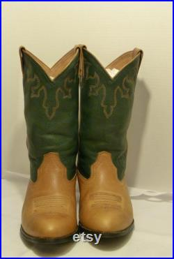 ARIAT Leather Men's Leather Western Cowboy Boots Sz 10.5 EE Style 34289