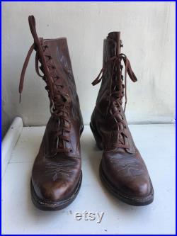 BEST Men's Custom Roper Ankle Boots Size 10.5