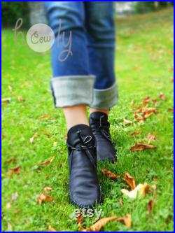 Black Moccasins, Moccasin Boots, Womens Moccasins, Leather Moccasins, Black Leather Boots, Mens Moccasins, Womens Boots, Black Boots, Boots