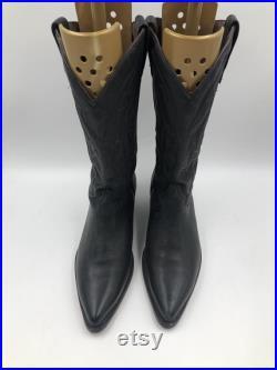 Black cowboy Boots men s size 11 EE