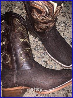 Cuello de toro bull s neck boots
