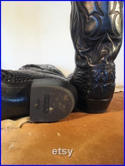 Custom Made Crocodile Boots