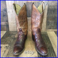 Dan Post Vtg Cowboy Boots Mens 10 B