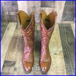 El Dorado Handmade Cowboy Boots Mens 8 d