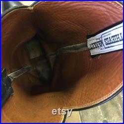 El Dorado Handmade Vtg Cowboy Boots Mens 9.5 D