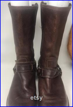 Frye Harness Boots,Frye Boots,Leather Boots,Leather Harness Boots,western boots,rancher,cowboy,cowgirl,leather