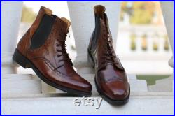 Handmade Cow Leather Boots