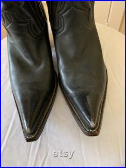 Handmade Vintage Inspired Heritage Cowboy Boots 9