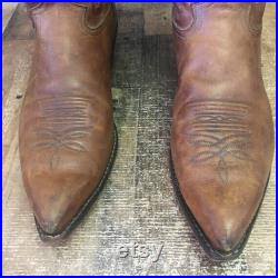 Justin 2676 Pointed Toe Cowboy Boots Mens 13 D