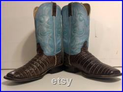 Justin Boots Brown Blue