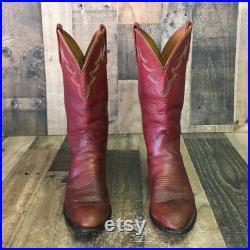 Lucchese 2000 Vtg Cowboy Boots Men s 8 D