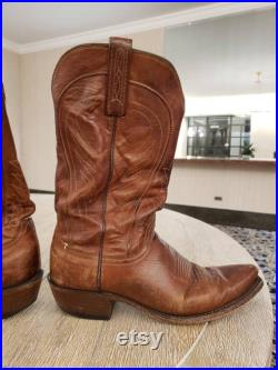 Lucchese Bart Style Size 8D Luxury Cowboy Boots