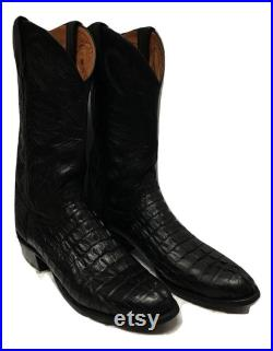 Lucchese Hornback Crocs Boots