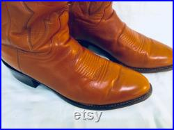 Lucchese leather Cowboy Boots sz 10.5 ee original box