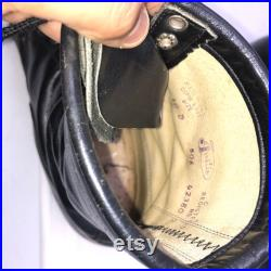 Men Size 10 Vintage Justin Black Ankle Roper Boots- 90s Fashion