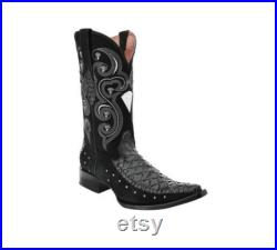 Men's Western Boot Botas de Hombre (Oso Hormiguero)