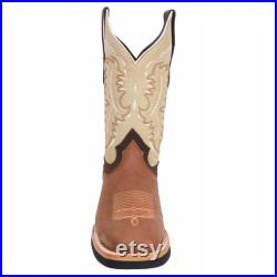 Men's Western Boot Botas de Hombre (Rodeo Boots) SG512