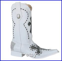 Men's Western Boots Botas Vaqueras de Hombre