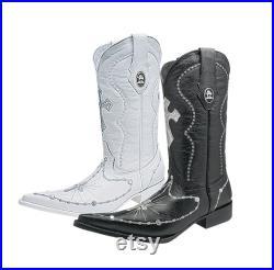 Men's Western Boots Botas Vaqueras de Hombre P22-668
