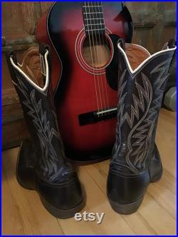 Mens Nocona Texas Cowboy Boots vintage boots cowboy boots Nocona