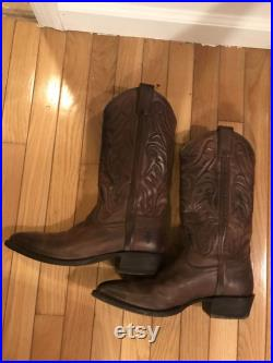 Mens Vintage Frye Cowboy Boots