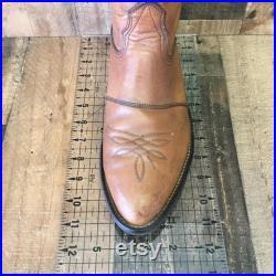 Nocona Vtg Buckaroo Cowboy Boots Mens 9.5 EE