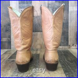 Stewart Boot Co 1977 Vtg Cowboy Boots Mens 9.5 D