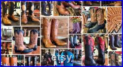 Texas Custom Cowboy Boots