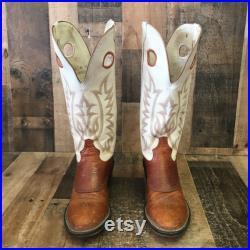 Tony Lama 4830 Renegade Buckaroo Cowboy Boots Mens 9.5 EE