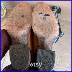 Tony Lama Vintage Western Cowboy Boots