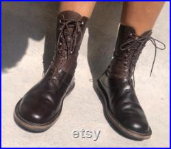 Trippen Biker Boots Robust Leather Unisex EU 43