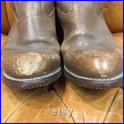 Vintage 1960 s, Biltrite Boots, Brown Leather Boots, Riding Boots, Western Boots, Biker Boots, Rockabilly Boots, Vintage Boots, 1960 s Boots