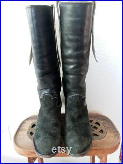 Vintage Knee High Western Riding boots