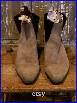 Vintage RM Williams 90's Cuban Suede Boots Men's 10 1 2