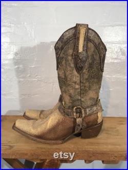 Vtg cowboy boots Frida cuadray made in mexico