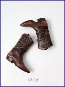 vintage Nocona cowboy boots, men's boots size 8.5 D